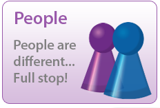 People - People are different ... Full stop!